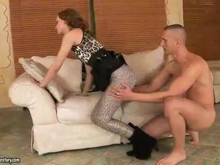 Gitta Blond enjoys hot foot sex
