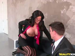 चश्मा हॉट, देखना बड़े स्तन, मुख्यालय मोज़ा