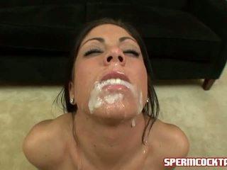 hottest cum fun, great sperm, facial