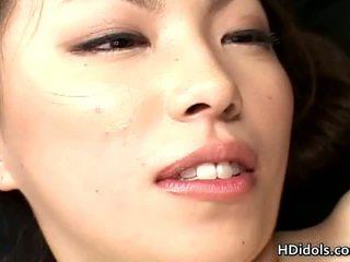 Tomoe hinatsu gleams gratuit oriental porno