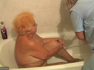 पुराना मोटा grandmother having फक्किंग beside innocent व्यक्ति