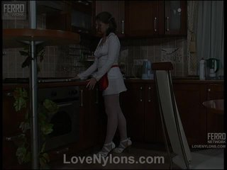 Alana And Paul Vivid Stockings Action