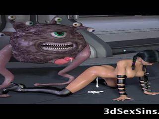 Ogres و aliens اللعنة 3d elf الفتيات!
