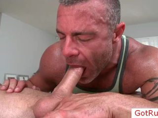 Chap getting rimmed wazoo pendant massage