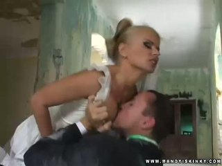 Vampire Bride Dora Venter Sucking Her Grooms Big Cock