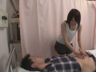 日本, 性感的, 护士, 最热