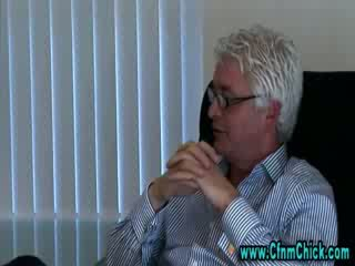 Cfnm toimisto vauva gets kuuma