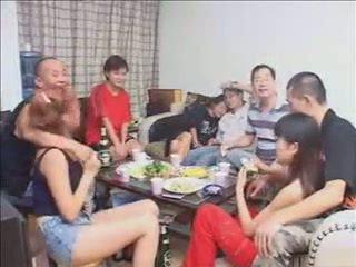 group sex, žena, hardsextube, kitajski