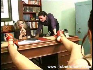 lesbička, amatoriale, taliančina
