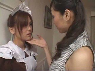 アジアの レズビアン メイド