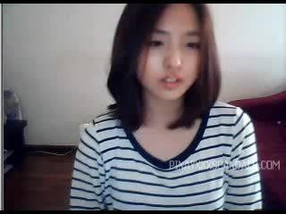 Aranyos tini ázsiai webkamera