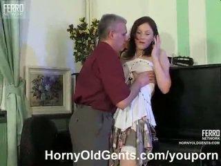 brunettes, teacher, old farts, hardcore