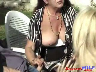 Tóc rậm trưởng thành vợ likes nó trong các ass
