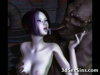 Ogres nailing 3d elf meninas!