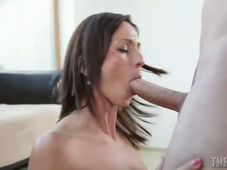 Simona Style awesome deep throat skills