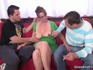 nice old, hq 3some, grandma new