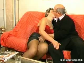 brunette watch, you granny free, check gangbang best
