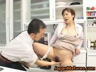 barna, japán, group sex, nagy mellek