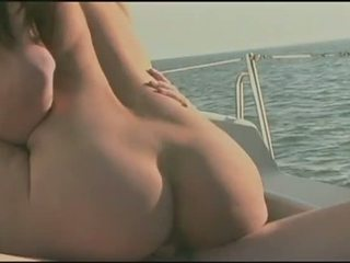 Hardcore yacht cruising sweet pussy injection fun