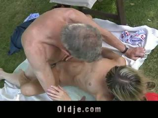 Oldje: gina gerson fucks ηλικιωμένων άνθρωπος