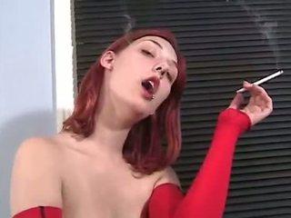 segar merokok terpanas, paling orang yg perang rambutnya paling, baru telanjang