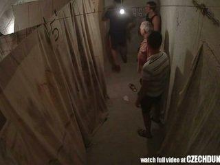 Shocking shots থেকে eastern ইউরোপীয় underground brothel