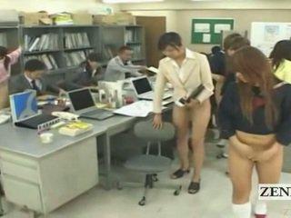 studente, giapponese, sesso di gruppo, studenti