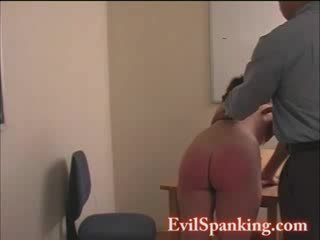 A Red butt for this naughty doll