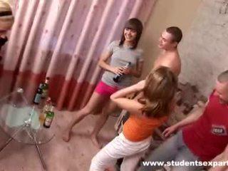 realiteit, tieners, partij meisjes