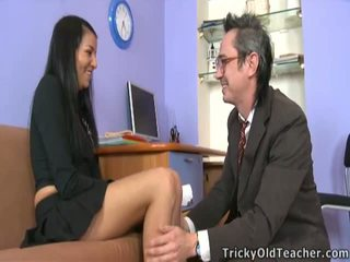 Jenny Takes Teacher's Chunky Wiener And Has An Incredible Orgasm.