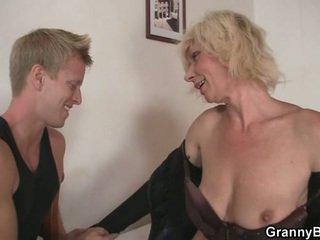 see blondes, grandma fun, online moms and boys