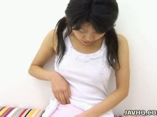 Haruka aida horký asijské dospívající solo