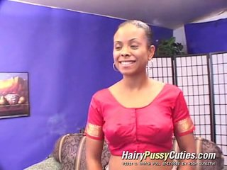 Nympho Afro Young Woman Gives A Man Awesome Head Who Screws Her Wooly Anal And Fuzz Box Later