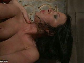 Katy Borman Exploring A Sensuous Babe's Anus Around Explicit Toy