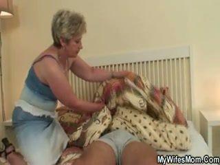 Mature Mom Riding Cock