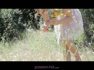 Passion HD: Avril sun's passionate fucking in the garden
