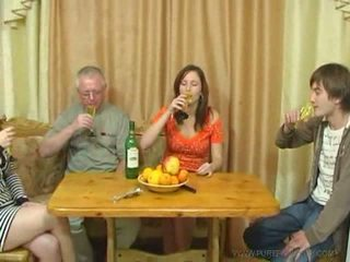 Pure russe famille sexe vidéo