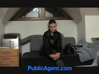 Joan picked up by and fucked by jemagat öňünde agent