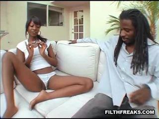 black girl am meisten, black pussy, black booty echt