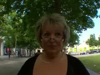 Carole fransk eldre anal knullet