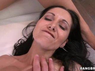 brunette any, groupsex, big tits fresh
