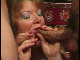 Martine, mature anal banged in stockings Video