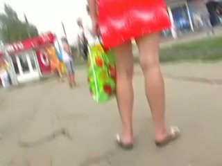 Accidental Upskirt For Lucky Cam Guy