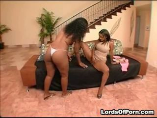 Sinnamon And India Are Two Astonishing Darksome Lesbian Divas. Thes