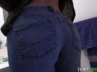 Slutty teen gf banged while being filmed