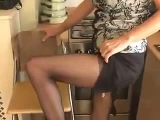 成熟, 手淫, 丝袜