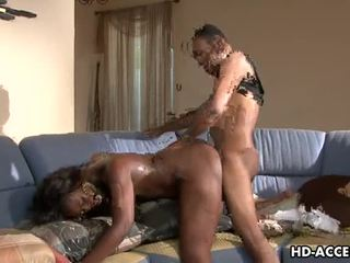See ebony Aryana Starr fucked by black cock Video