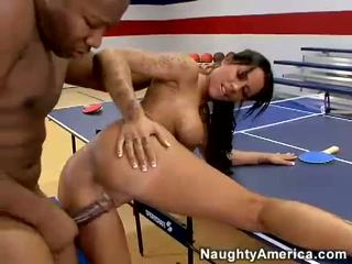 Busty Babe Mya Nicole Getting Drilled Hard On Her Cum Hole Doggyway By A Dark Dong