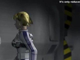 Mescolare di mescolare video da 3d hentai video