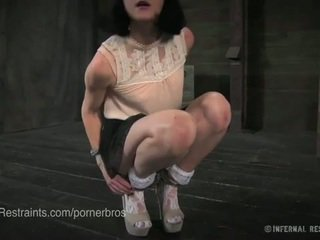 brunette full, torture, best gag quality